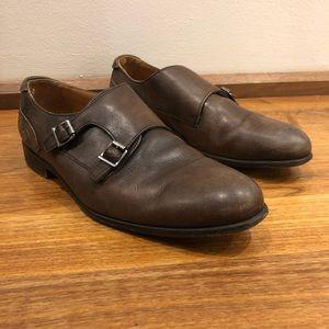 Zara Double Monk Strap Dress Shoes (Size 9)